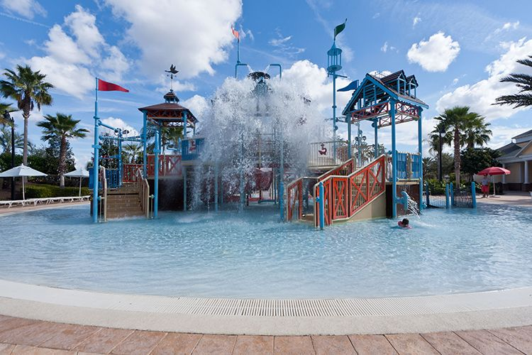 Reunion Waterpark Splash Pad