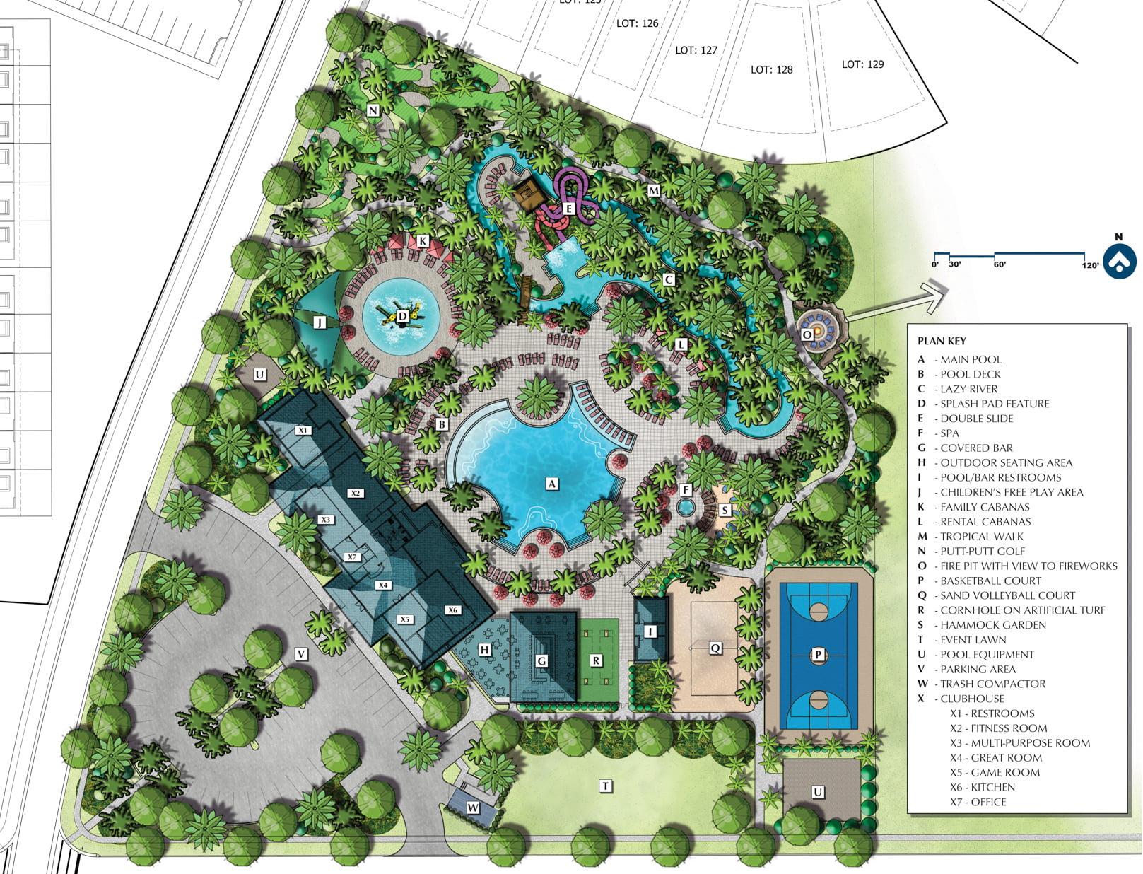 Windsor Island Resort Map