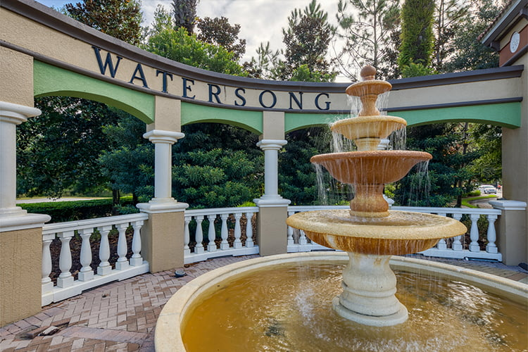 Watersong Entrance